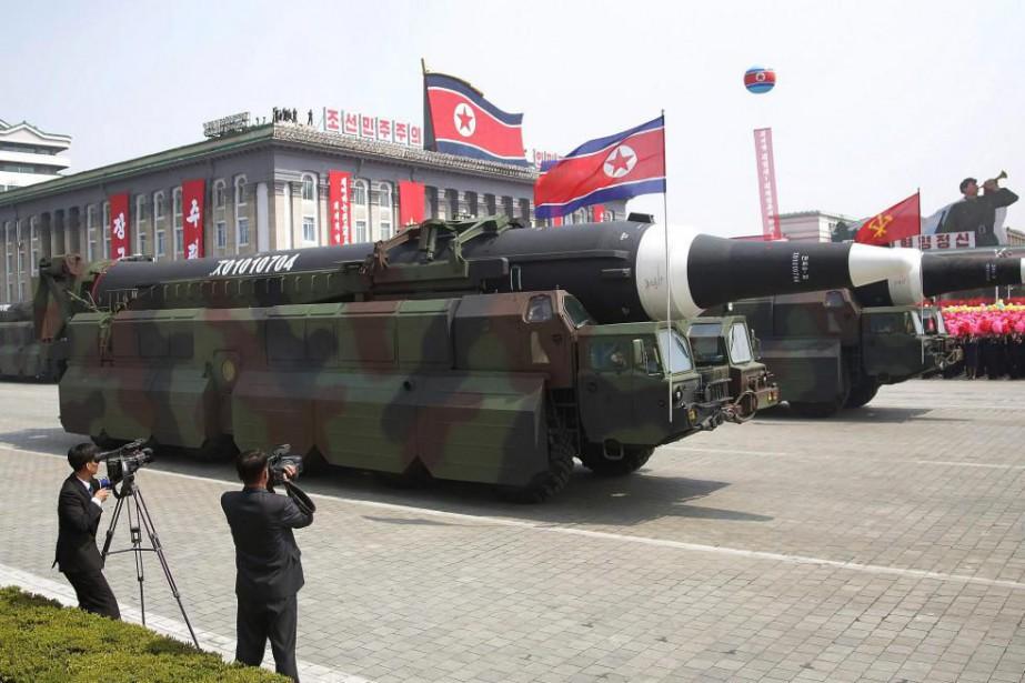 Pyongyang a déclaré qu'«actuellement, elle étudie avec attention... (PhotoWong Maye-E, archives Associated Press)