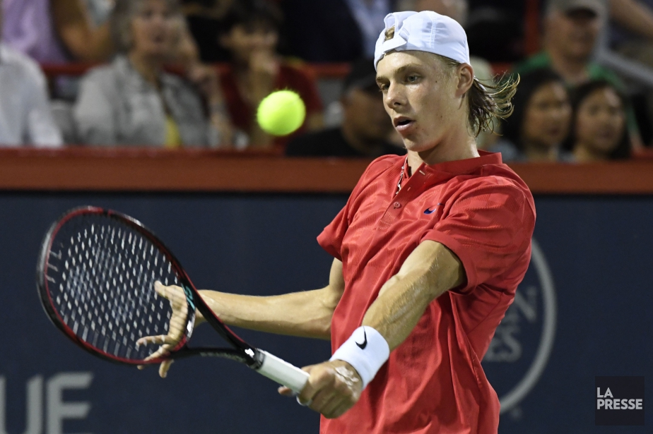 Denis Shapovalov... (PHOTO BERNARD BRAULT, LA PRESSE)