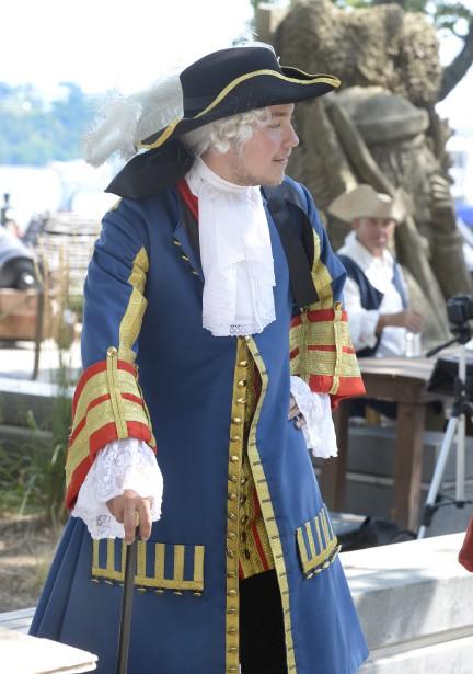 Les costumes d'époque foisonnent dans le Vieux-Port. | 12 août 2017