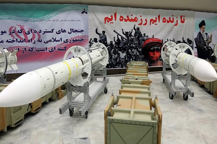 Cette photo publiée le 22juillet par le ministère... (PHOTO ARCHIVES AFP/MINISTÈRE IRANIEN DE LA DÉFENSE)