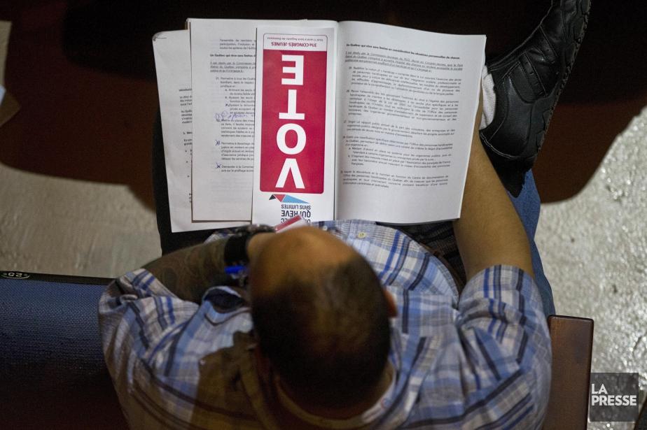 Les jeunes libéraux ont rejeté par une forte... (PHOTO IVANOH DEMERS, archives LA PRESSE)