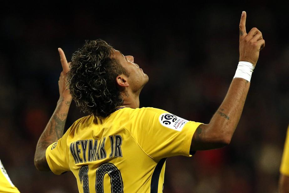 Neymar... (Photo AP)