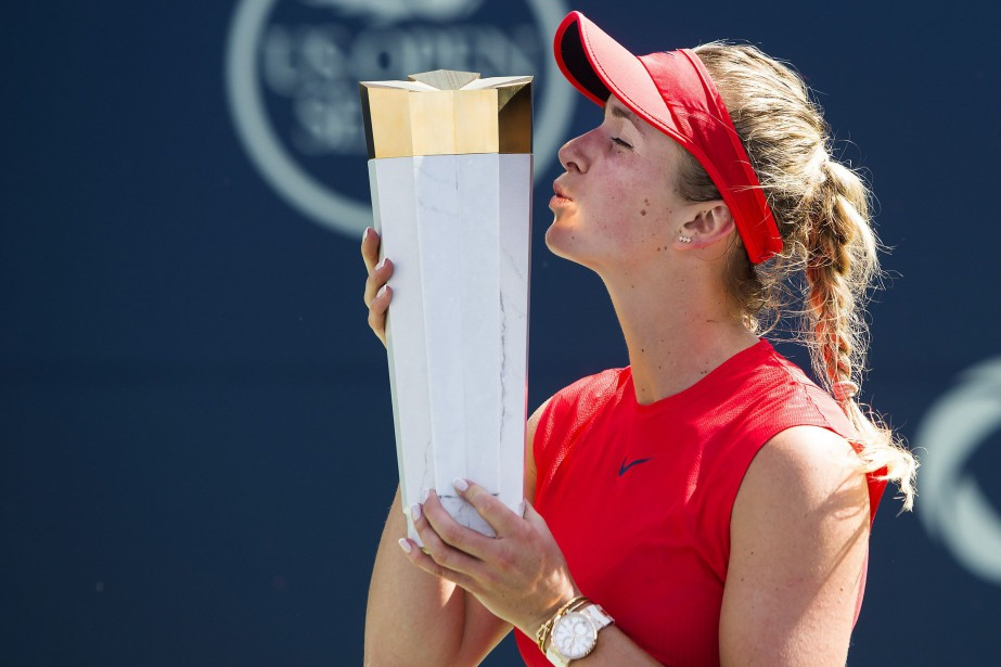 Elina Svitolina a remporté la Coupe Rogers à... (Photo Nathan Denette, PC)