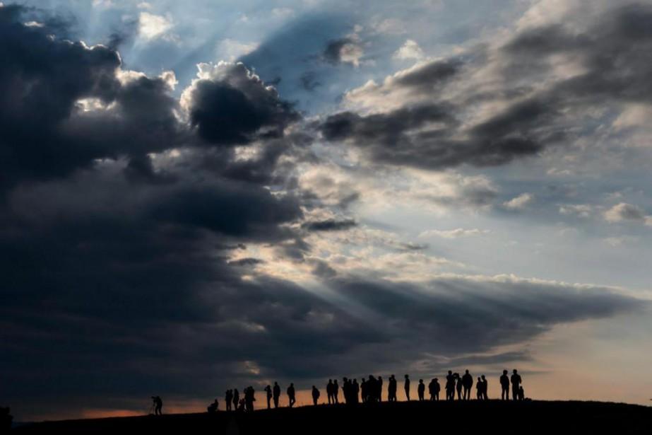 Les nuages sont l'un des plus beaux et... (photoFabrice Coffrini, archives agence france-presse)