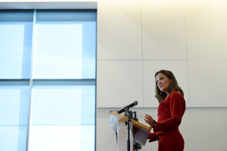 Chrystia Freeland... (Photo Sean Kilpatrick, La Presse Canadienne)