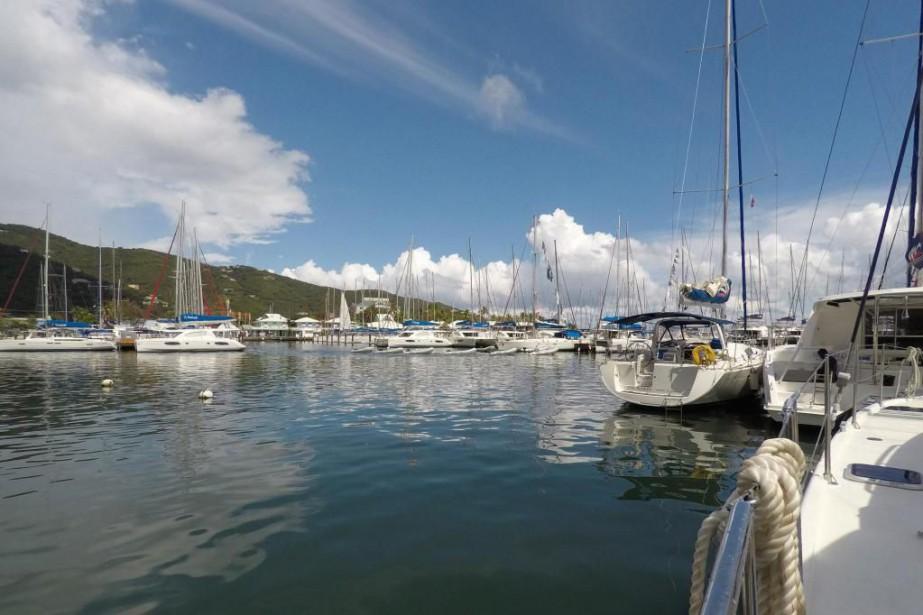 La base de Sunsail à Tortola, dans les... (Photo Normand Latour, collaboration spéciale.)