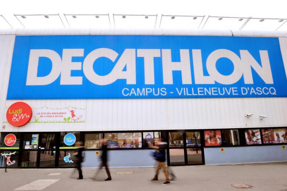 Decathlonse démarque par l'éventail étendu de son offre... (PhotoPHILIPPE HUGUEN, archives Agence France-Presse)