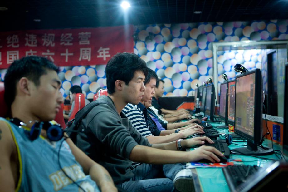En Chine, la dépendance à internet est considérée...