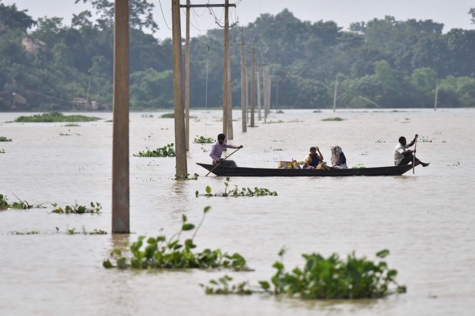 En Inde, les autorités ont fait état mardi... (AFP)