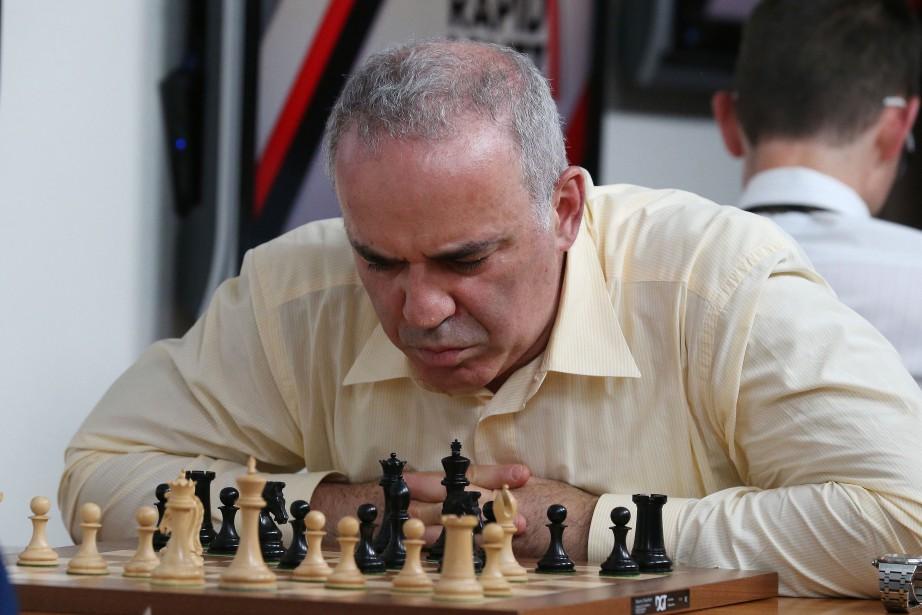 Les risques que Garry Kasparov a pris dans... (PHOTO AFP)