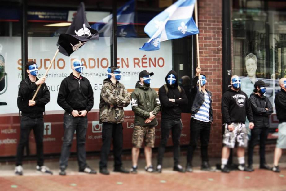 Atalante-Québec projette d'ouvrir un «club de combat» identitaire,... (PHOTO TIRÉE DE FACEBOOK)