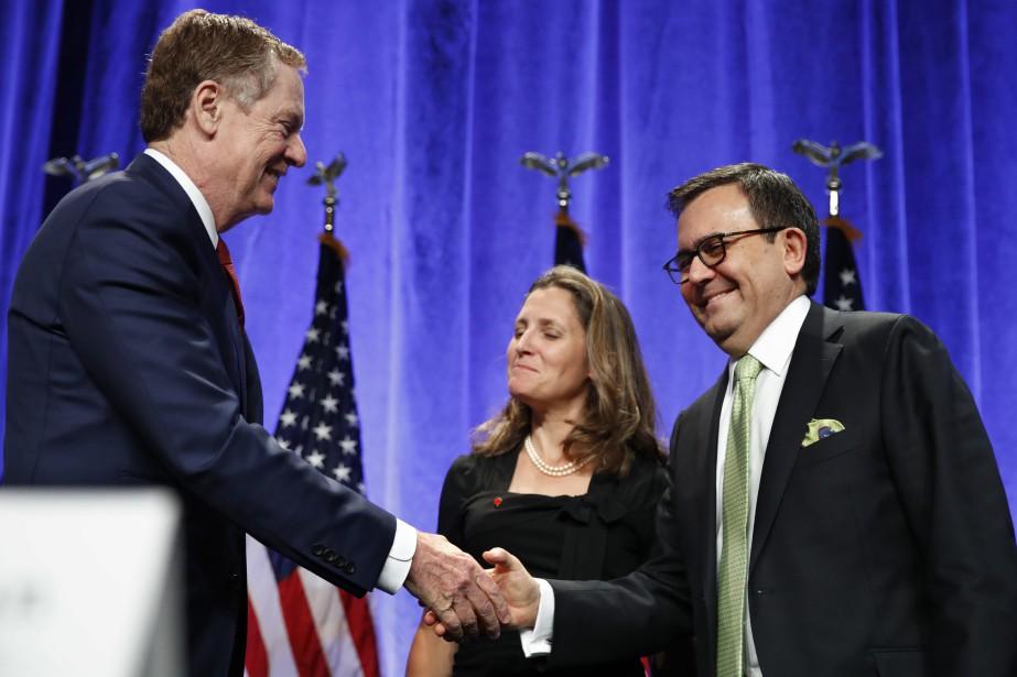 La ministre des Affaires étrangères du Canada Chrystia... (Photo AP)