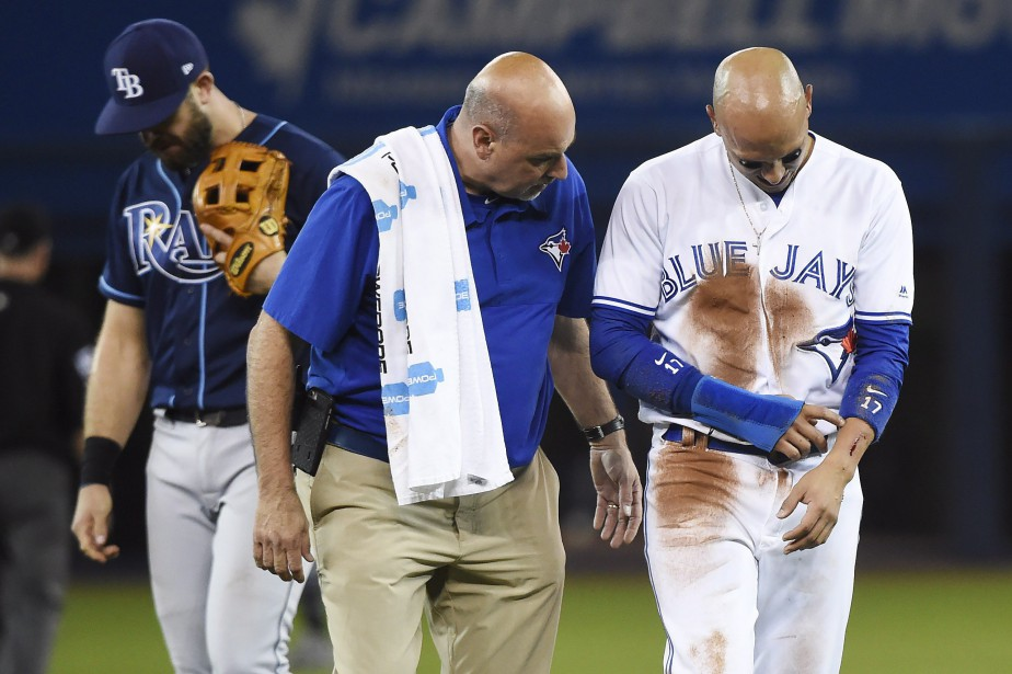 La blessure qu'a subie Ryan Goins ne semblait... (PHOTO PC)