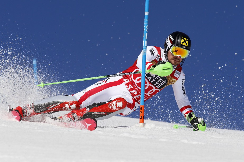 Marcel Hirscher... (Photo Nathan Bilow, archives AP)