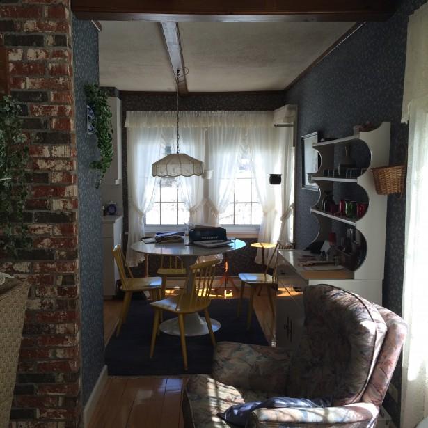 La salle à manger avant les travaux. (France Morin)