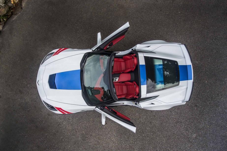 La Chevrolet Corvette Grand Sport 2017 ()