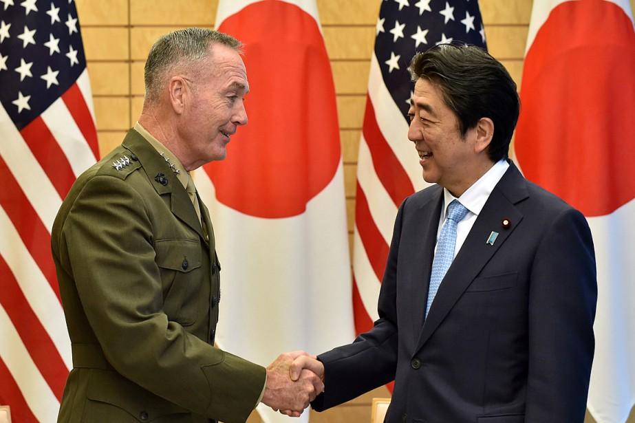 Le général Joe Dunford, en visite à Tokyo... (PHOTO KAZUHIRO NOGI, REUTERS)