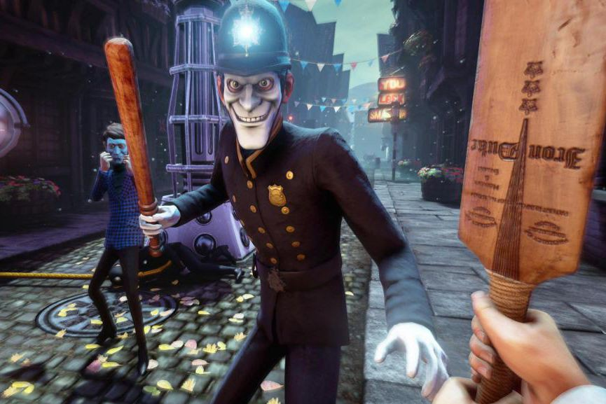 We Happy Few se déroule dans un univers... (image fournie par compulsion games)
