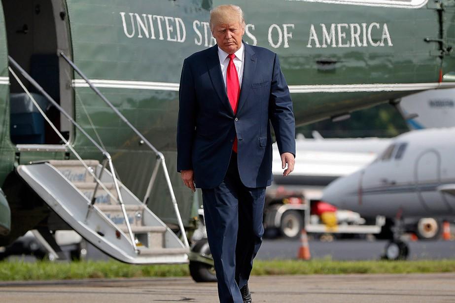 Donald «Trump va démissionner» avant que les enquêteurs... (PHOTO PABLO MARTINEZ MONSIVAIS, ARCHIVES ASSOCIATED PRESS)