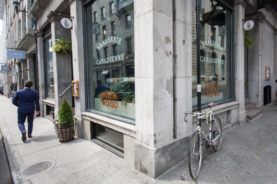 Le Rockwood est situé au 101, rue Saint... (Photo Simon Giroux, La Presse)