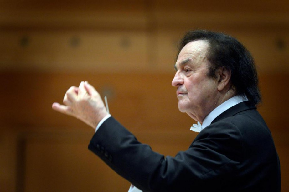 Charles Dutoit... (Photo Bernard Brault, Archives La Presse)