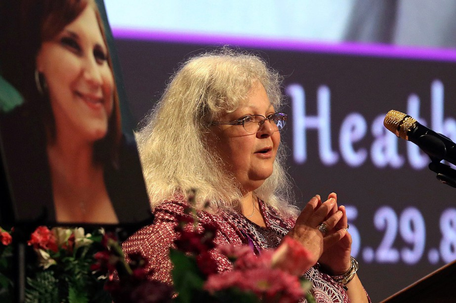 Susan Bro, la mère d'Heather Heyer, a précisé sur... (PHOTO ANDREW SHURTLEFF AP/THE DAILY PROGRESS)
