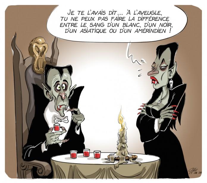Caricature du 20 août (Le Soleil, André-Philippe Côté)