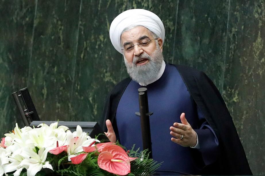 Le président iranien Hassan Rohani... (PHOTO AGENCE FRANCE-PRESSE/STR)