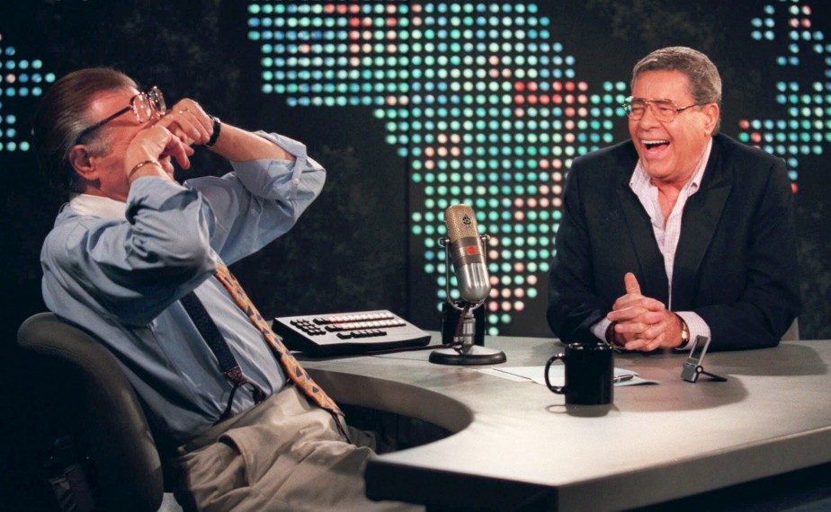 À l'émission de Larry King, le 26 août 1999 (AP, Chris Pizzello)