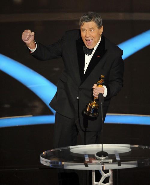 Le 22 février 2009, alors qu'il accepte le Jean Hersholt Humanitarian Award lors de la 81e cérémonie des Oscars (AP, Mark J. Terrill)