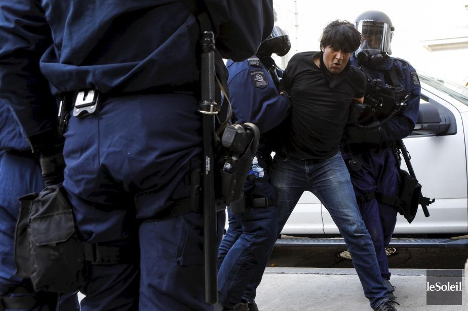Le militant altermondialiste Jaggi Singh a été arrêté... (Photo Caroline Grégoire, archives Le Soleil)