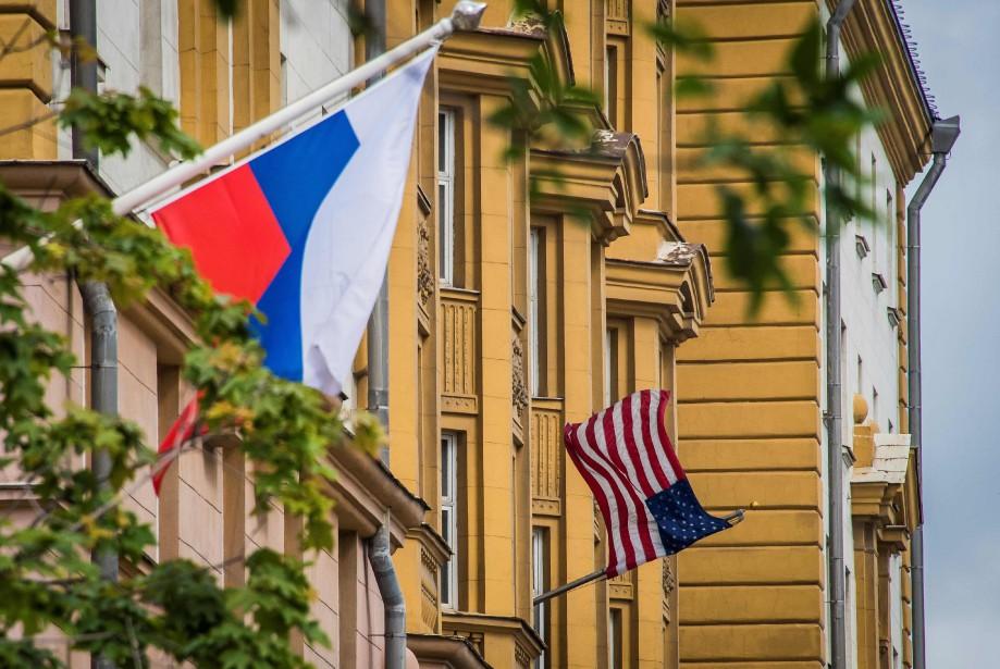 L'ambassade des États-Unis à Moscou.... (PHOTO MLADEN ANTONOV, ARCHIVES AGENCE FRANCE-PRESSE)