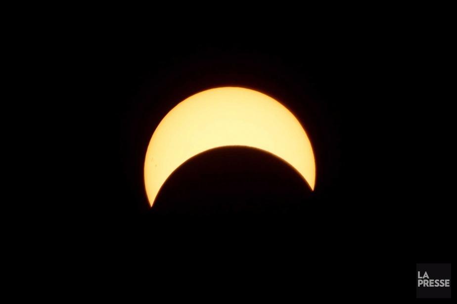 Relisez le clavardage sur l'éclipse... (Photo Martin Chamberland, La Presse)