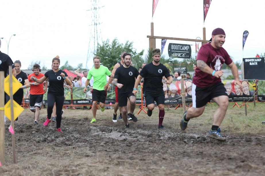 Plus de 2000 personnes ont participé au Bootcamp race version Jungle à Granby. | 21 août 2017