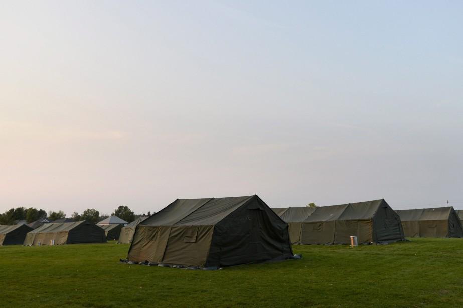 Un site d'hébergement temporaire pour les demandeurs d'asile... (PHOTO PC)