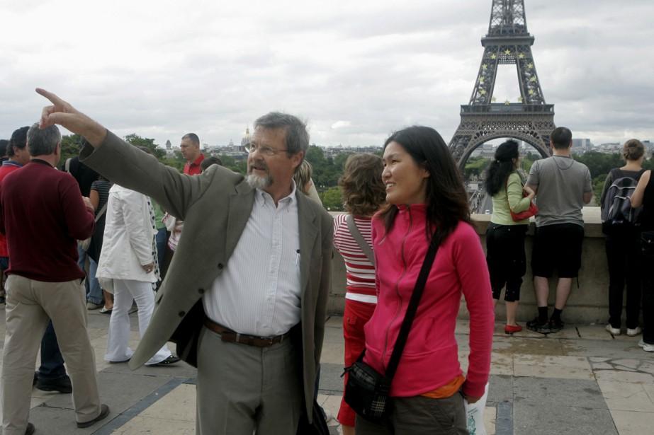 Christian Ragil,président de la Fédération France Greeters, en... (PHOTO ARCHIVES AP)
