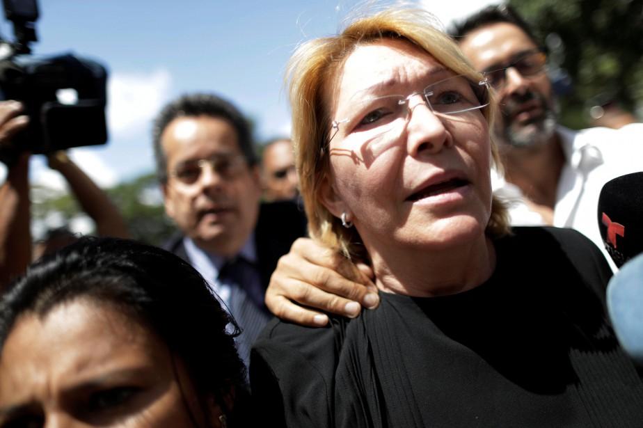 L'ex-procureure Luisa Ortega Diaz a été démise de... (Photo Ueslei Marcelino, REUTERS)