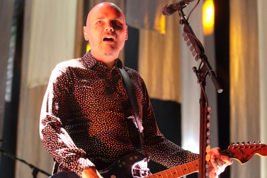 Billy Corgan de Smashing Pumpkins... (PHOTO ARCHIVES AP)