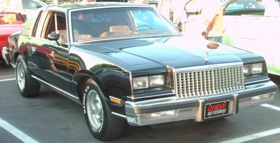 <strong>La voiture qui a marqué son enfance :</strong> La Buick Regal de sa mère. Il a passé beacoup de temps dans cette voiture, en route pour ses tournois de hockey et de soccer. (Photo : Wikipédia)