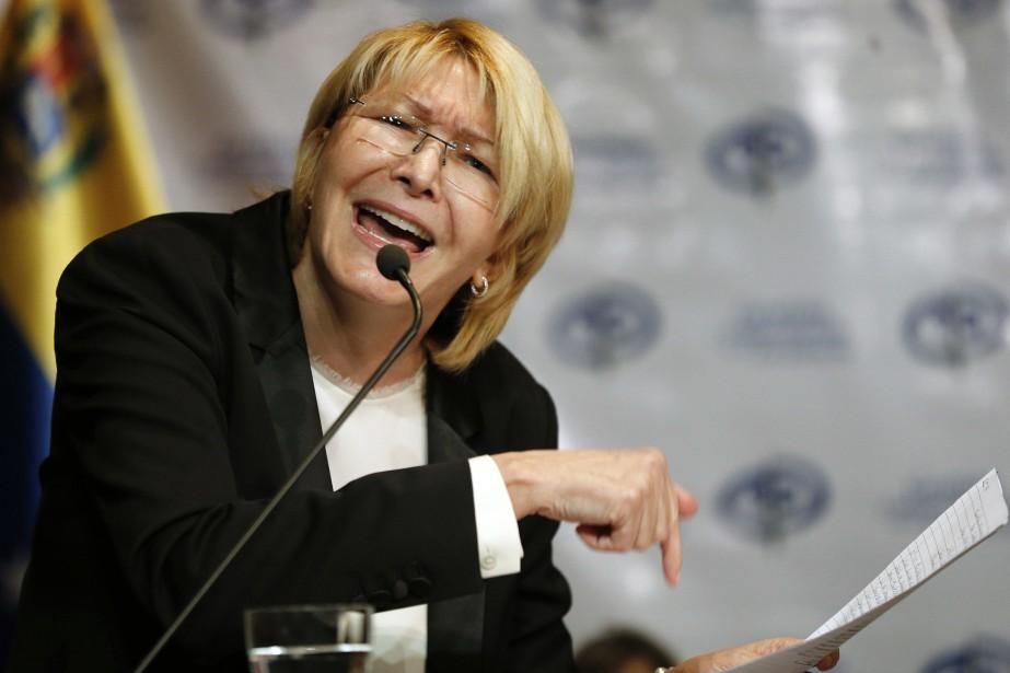 Luisa Ortega, qui n'a cessé de dénoncer la... (PHOTO AP)