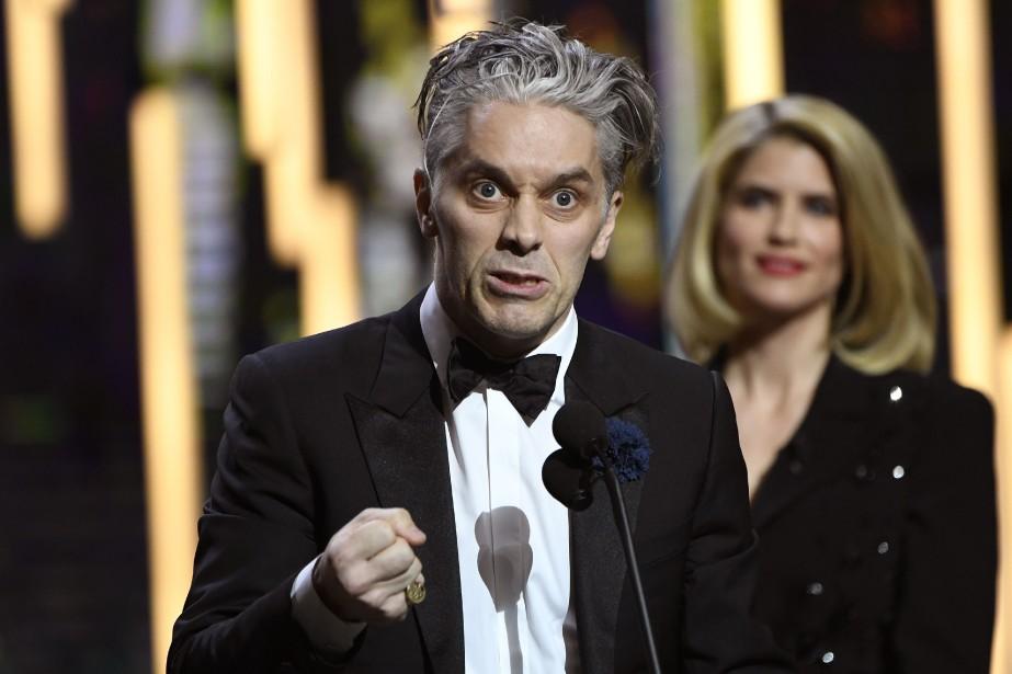 En février dernier, James Thierree a remporté le... (Photo bertrand GUAY, AFP)