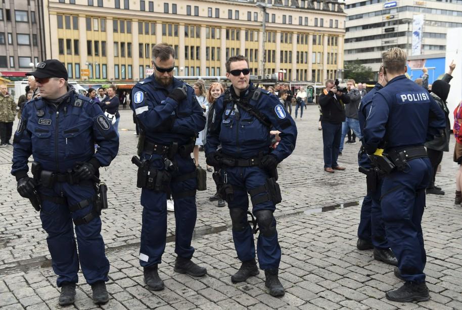 «Deux hommes ont été arrêtés et sont soupçonnés... (AP)