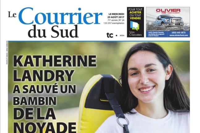 Les journauxLe Journal Saint-François,Le Soleil de Châteauguay,Brossard Éclair,Le... (Saisie d'écran du Courrier du Sud)