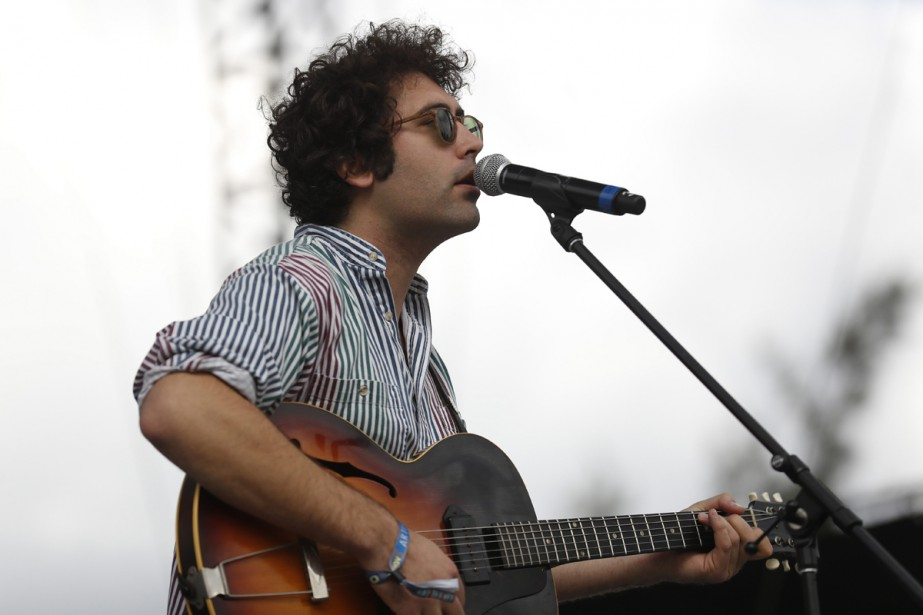 Miles Michaud, chanteur du groupe Allah-Las... (PHOTO ARCHIVES AP)