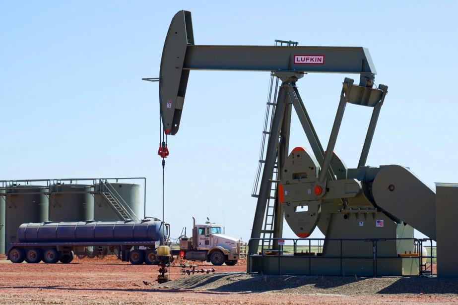 Le baril de «light sweet crude» a progressé... (PHOTO ARCHIVES AFP)