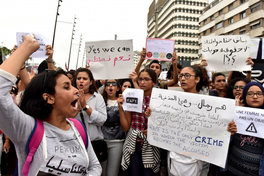 Dans un pays qui se veut, selon les... (PHOTO AFP)