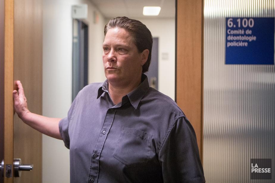 L'ex-policière Stéfanie Trudeau a eu une probation de... (PHOTO SIMON GIROUX, LA PRESSE)