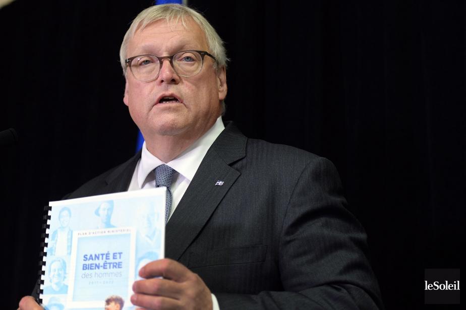 Le ministre de la Santé Gaétan Barrette a... (Photo Erick Labbé, Le Soleil)