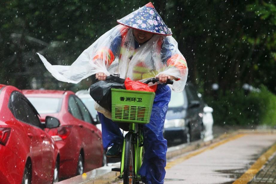 Hong Kong et sa région est régulièrement affectée... (PHOTO AFP)