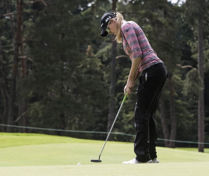 La Québécoise Maude-Aimé Leblanc effectuera un retour à la compétition sur le circuit de la LPGA jeudi, lors de la première ronde de l'Omnium canadien CP au club Ottawa Hunt. | 23 août 2017